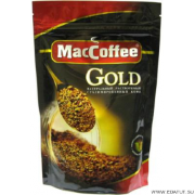 Кофе MacCoffee Gold сублимированное. д/пак 75гр.